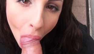 Hot amateur Eurobabe Kerry Insidious screwed a chunk of money