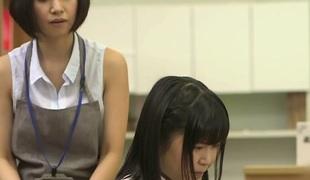 Asami Tsuchiya &  in MILF Choker Girl Considering Porn - JapansTiniest