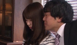 Yui Hatano in Yui Hatano met her whilom before lover, greatest extent - AviDolz