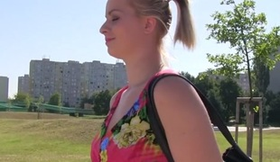 Ebba Sofie in Flower Duds Beauty Fucks for Ripping - PublicAgent