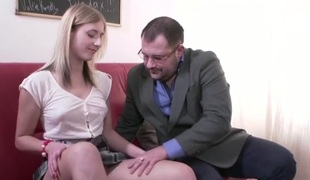 Dirty Professor Fucks Slutty Pupil