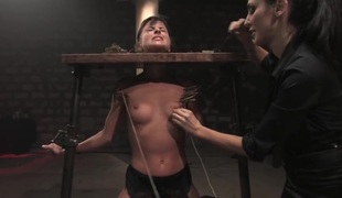 BDSM. Cecilia Vega nigh the Armory