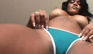 Exotic slut with unforgettable ass is rammed by vicious black cock