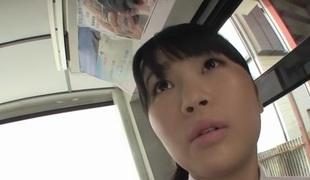 Hottest Japanese chick Satomi Nomiya in Incredible gangbang, big tits JAV instalment