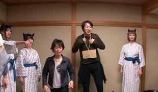 Nanami  Hirose & Uta Kohaku & Yuka Osawa regarding Orgy With Cute Devils Fro Lingerie - CosplayInJapan