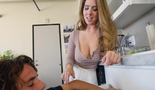 Lena Paul in the matter of Lena Paul has the plumber clean her pipes - BigTitsRoundAsses