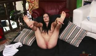 Jenna is fucking beautiful. I mean, the dark hair, the porcelain-like skin, that tasty youngster body .... Emend still, we get to watch her use a Hitachi to bring mortal physically to an orgasm.