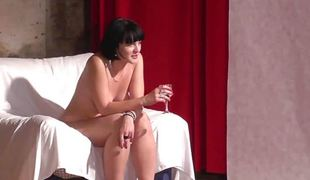 19yo cutie shows her body at her roguish glum CASTING