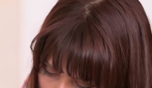 Katalina Mills & Amber Pursue in the matter of Pleased to lick - MomsLickTeens