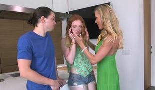 Brandi Love & Katy Kiss & Alex Davis in all respects More Brandi - MomsBangTeens
