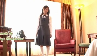 Crazy Japanese old bag Koko Seiko in Best fingering, couple JAV video