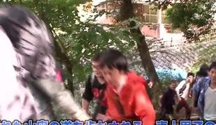 Amazing Japanese sluts Ayaka Tomoda, Hitomi Kitagawa, Kotomi Asakura close to Crazy JAV censored Cunnilingus, Small Knockers clip