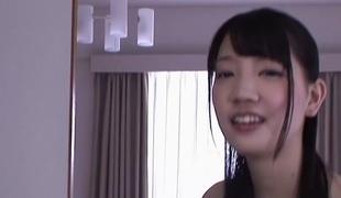 Horny Japanese old bag Suzuki Koharu in Farcical fingering, college JAV movie