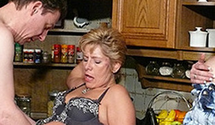 Meli Deluxe in German Youngster assists Mature Couple - MMVFilms