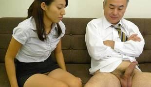 Anna Takizawa in Anna Takizawa is acquiring to treasure her older colleague from shtick - AviDolz