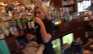 Who wanted not far from fuck a barmaid?