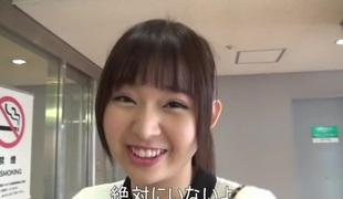 Dead beat Japanese floozy Nana Ayano in Imbecilic outdoor, dildos/toys JAV clip