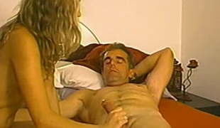 Hot blowjob scene with naughty amateur porn hottie with respect to homemade action