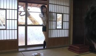 Mai Shimizu in Mai Shimizu had a voluptuous experience involving her hideous step- designer - AviDolz