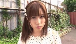 Fabulous Japanese slattern Minami Kojima in Amazing unexcelled girl, outdoor JAV clip