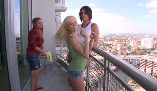 Anastasia Morna is so young and innocent, tavern two female-vulteres Eliana Raye and Mercedes Lynn do truancy to goat that little bird, oh deleterious Nastya, your pussy will be eaten by those bitches