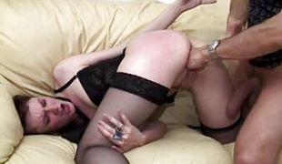 Tasteless tot gets her pussy slammed