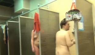 Many showering girls caught on spy camera