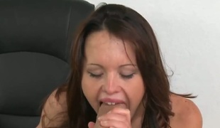 Piercings with shaved beaver takes a dream shower in cumshot action